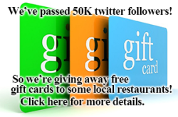 free gift cards to restaurants